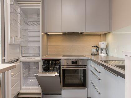 apartament 1050 West 2 Kościelisko W pełni wyposażony aneks kuchenny.