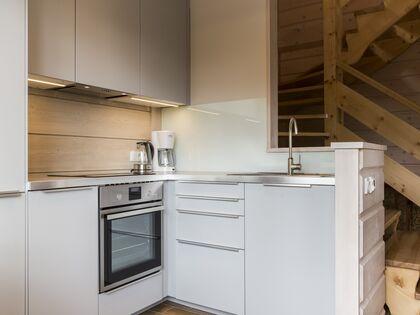 apartament 1050 West 2 Kościelisko Aneks i wyjście do górnej części apartamentu.