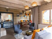 apartment 1050 West 2 Kościelisko Salon z częscią jadalną.