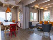 apartament 1050 West 2 Kościelisko Salon i część jadalna.