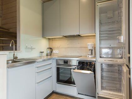 apartament 1050 West 1 Kościelisko W pełni wyposażony aneks kuchenny.