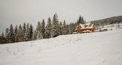 apartament 1050 West 1 Kościelisko Zimowy pejzaż.