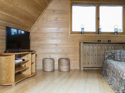 apartament Białka Garden 3 Białka Tatrzańska Salon-rozkładana sofa .