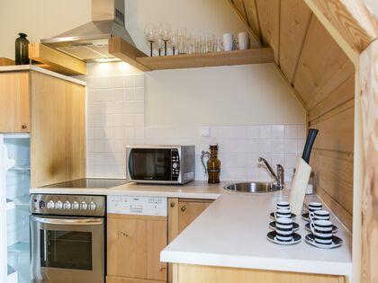 apartament Białka Garden 3 Białka Tatrzańska W pełni wyposażony aneks kuchenny.