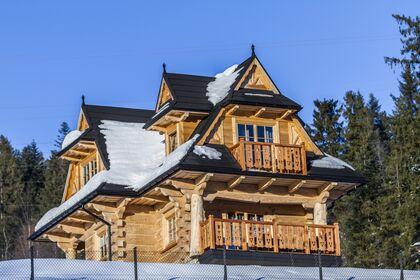 dom Na Czajkach Kościelisko